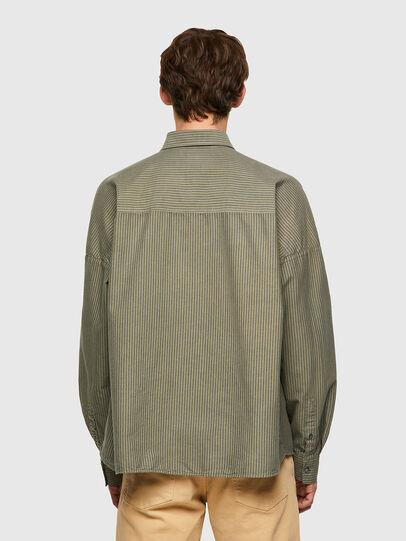 Diesel - S-LOOMY-B, Military Green - Shirts - Image 2