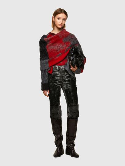 Diesel - M-BRONJA, Black/Red - Knitwear - Image 6