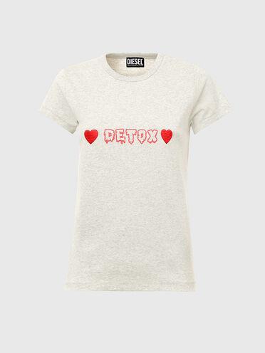 T-shirt with Detox print