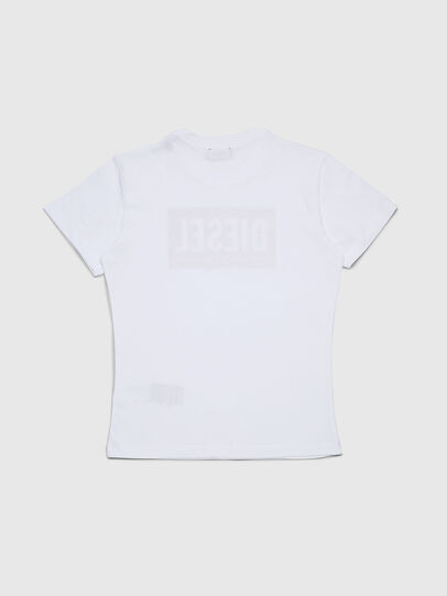 Diesel - TFOIL, White - T-shirts and Tops - Image 2