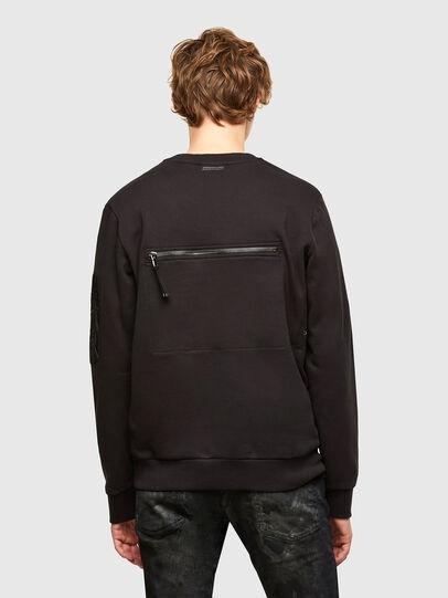 Diesel - S-IRIDIO, Black - Sweaters - Image 2
