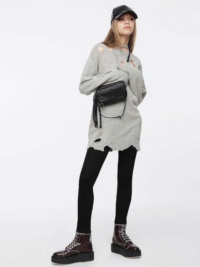 Diesel - M-PURE, Light Grey - Knitwear - Image 1