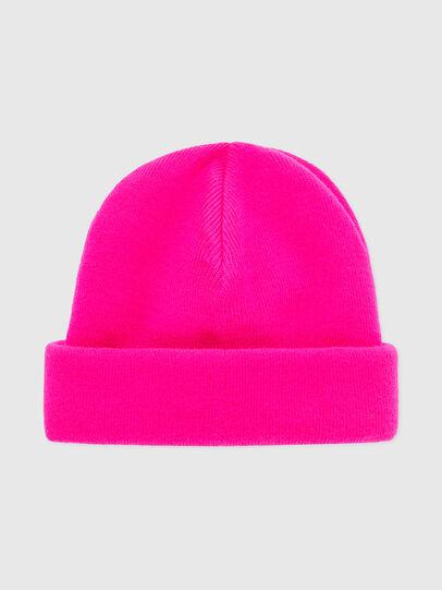 Diesel - K-XAU, Pink Fluo - Knit caps - Image 2