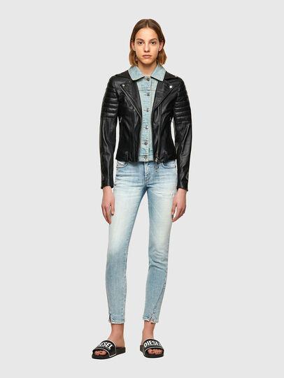 Diesel - L-AURO, Black - Leather jackets - Image 4