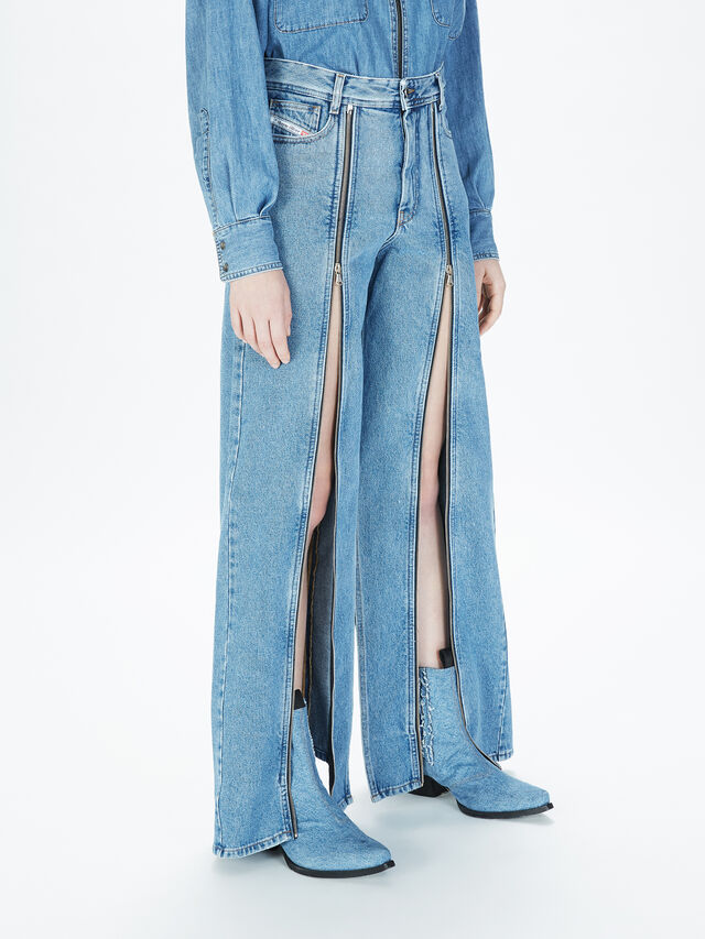 Diesel - SOWL01, Light Blue - Pants - Image 6