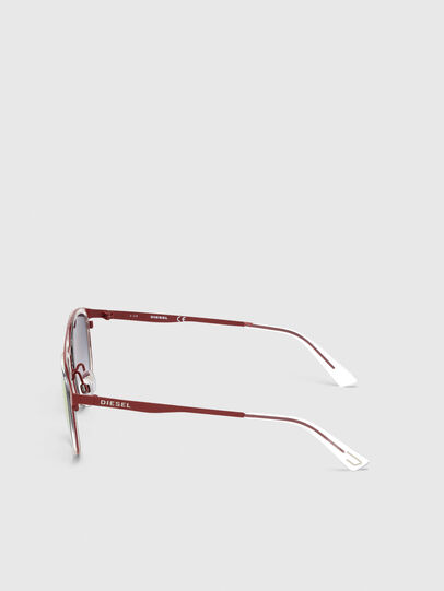 Diesel - DL0293, Red/White - Sunglasses - Image 3