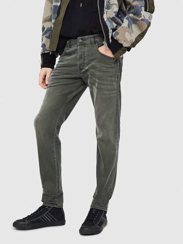 D-Bazer 0699P, Dark Green - Jeans