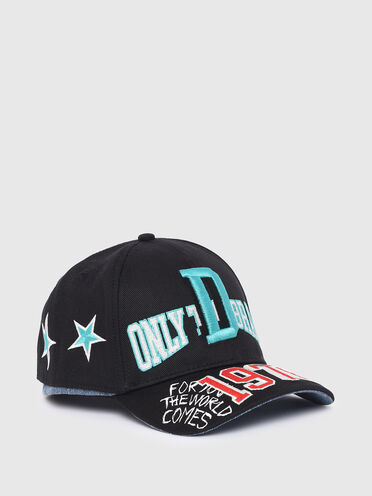 Baseball cap with layered effect