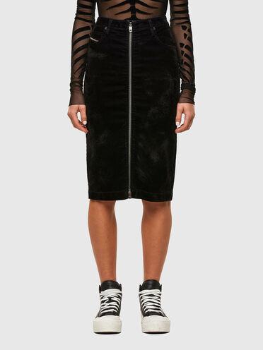 Pencil skirt in velvet JoggJeans®