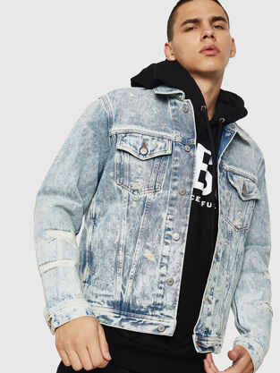 eeb96afc5 Men's Jackets: Leather, Denim, Bomber, Parka| Diesel®