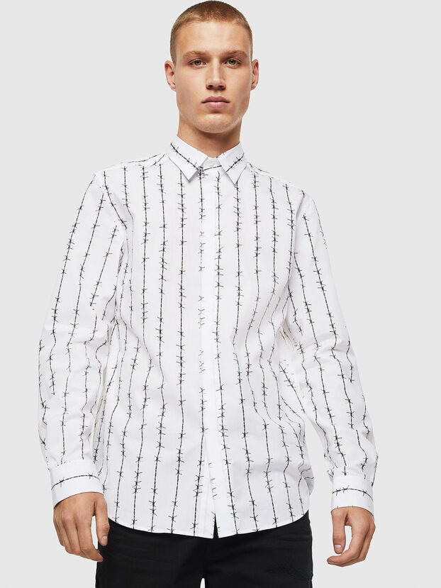 S-BARBWI, White - Shirts