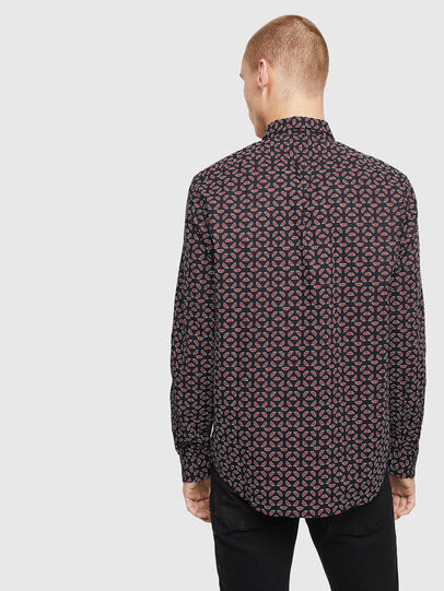 Diesel - S-CLES-D, Black/Red - Shirts - Image 2