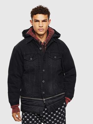 D-SHER, Black - Winter Jackets