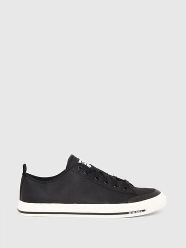 Low-top sneakers in nylon