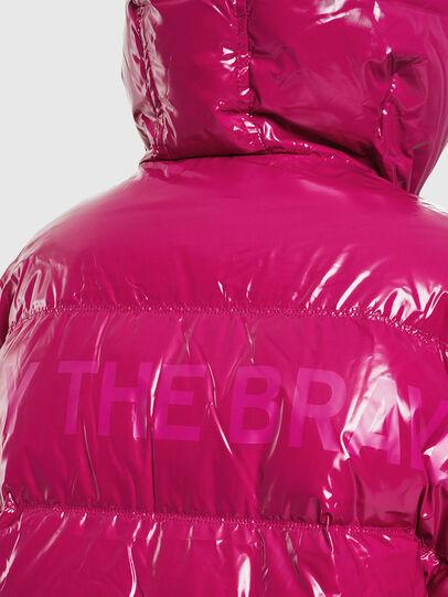 Diesel - W-ALLA, Pink Fluo - Winter Jackets - Image 5