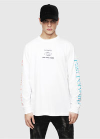 T-JUST-LS-YB, White