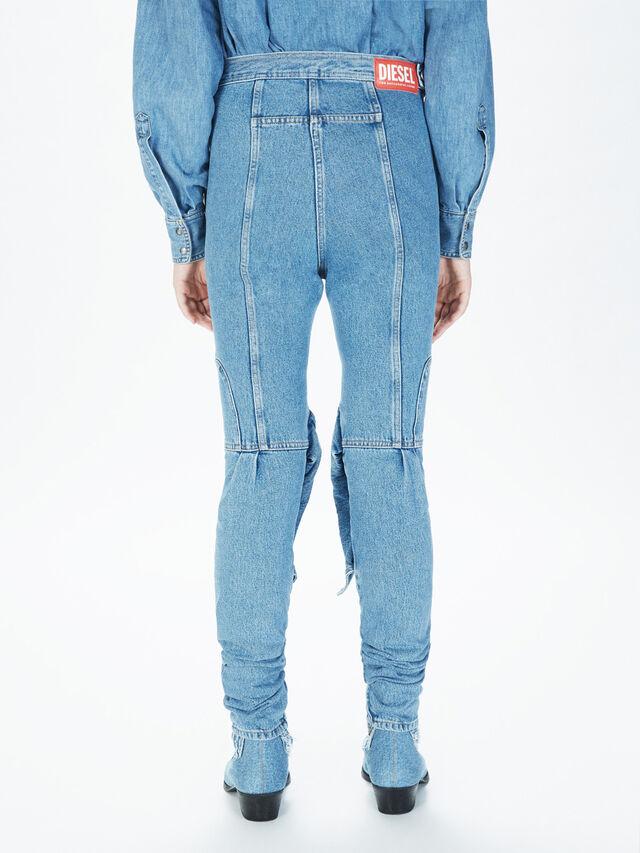 Diesel - SOJP01, Light Blue - Pants - Image 4