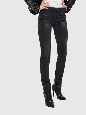 D-Ollies JoggJeans 0093H, Black/Dark grey - Jeans