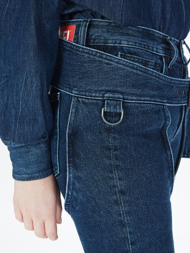 Diesel - SOCSJ01, Dark Blue - Pants - Image 6
