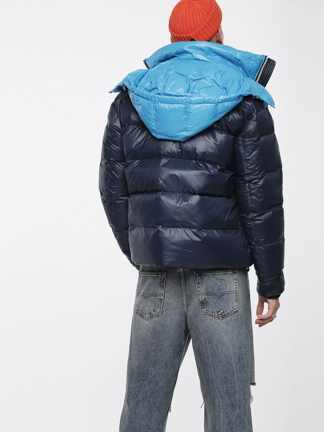 Diesel - W-SMITH, Multicolor/Blue - Winter Jackets - Image 2