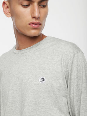 T-JUSTY-LS, Light Grey - T-Shirts