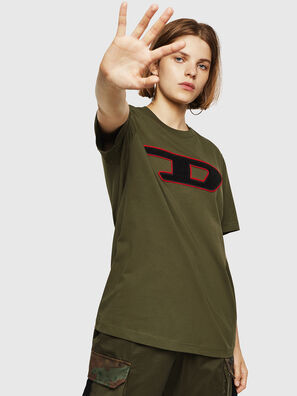 T-JUST-DIVISION-D-FL, Military Green - T-Shirts