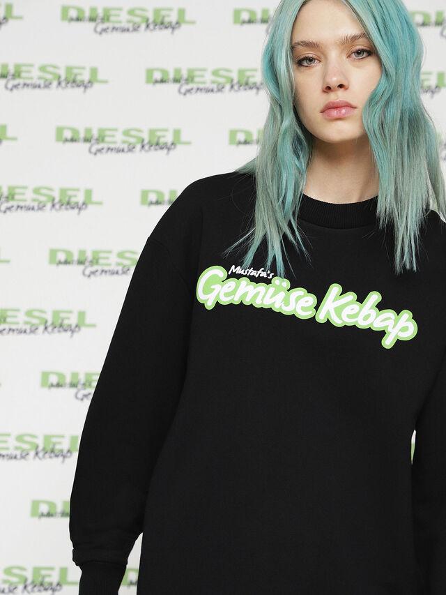 Diesel - MU-FESTA-FL, Black - Sweaters - Image 2