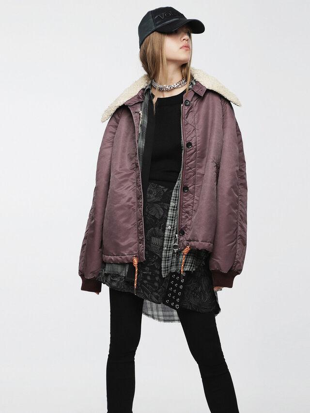 Diesel - W-GIADA, Violet - Winter Jackets - Image 1