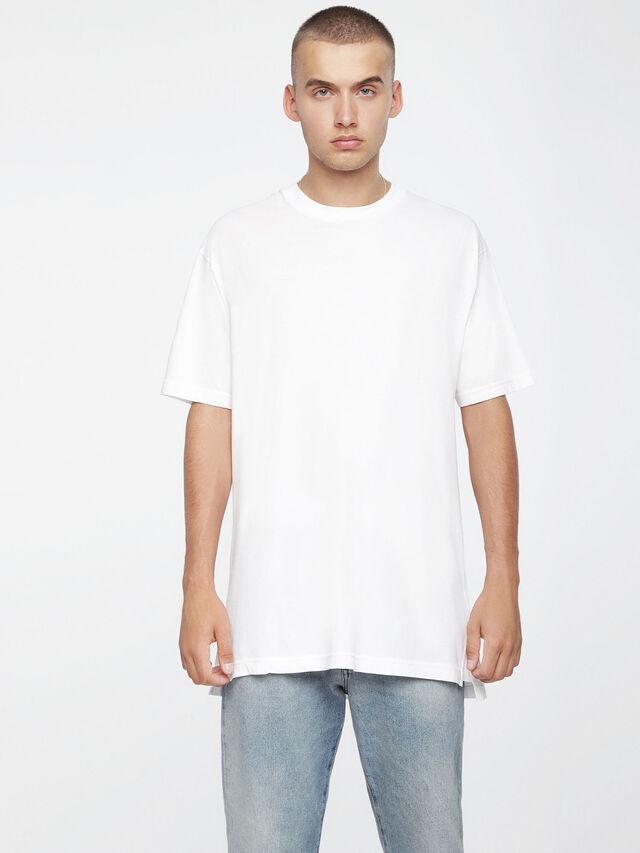 Diesel T-SANTA, White - T-Shirts - Image 1