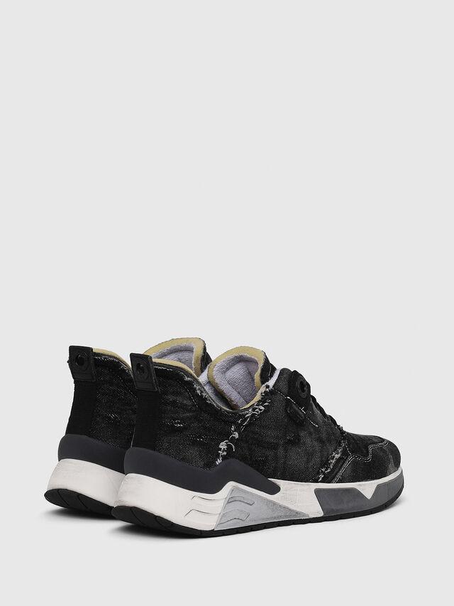 Diesel - S-BRENTHA LC, Black Jeans - Sneakers - Image 3