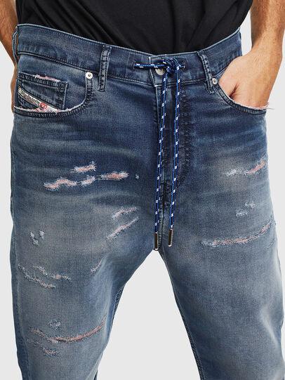 Diesel - D-Vider JoggJeans 069LW, Dark Blue - Jeans - Image 4