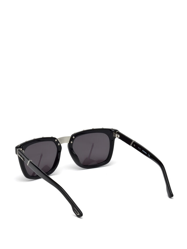 Diesel - DL0212, Black - Sunglasses - Image 2