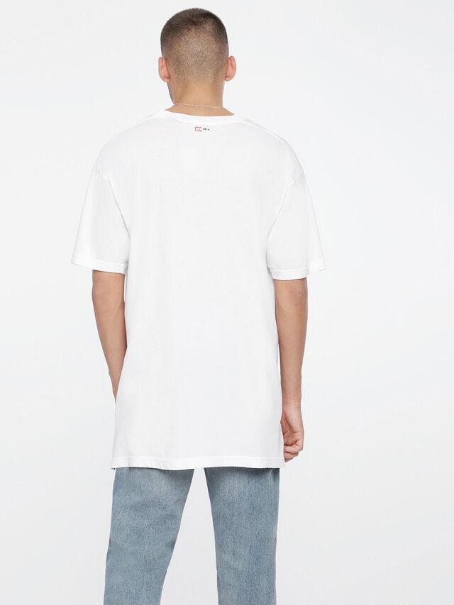 Diesel T-SANTA, White - T-Shirts - Image 2