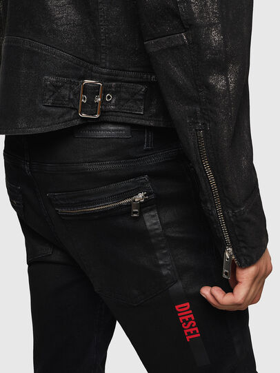 Diesel - D-JEI-SP JOGGJEANS, Black - Denim Jackets - Image 5