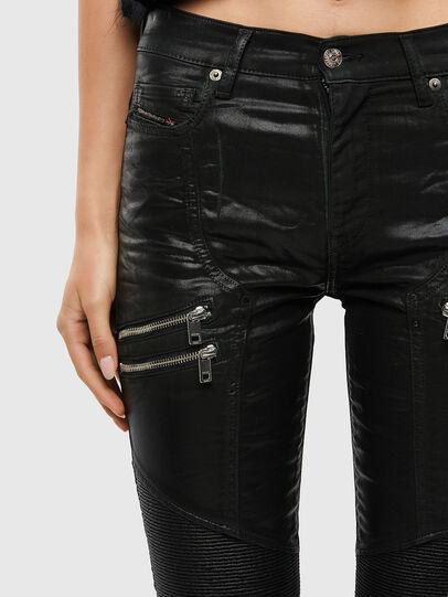 Diesel - D-Ollies JoggJeans 069QQ, Black/Dark grey - Jeans - Image 5
