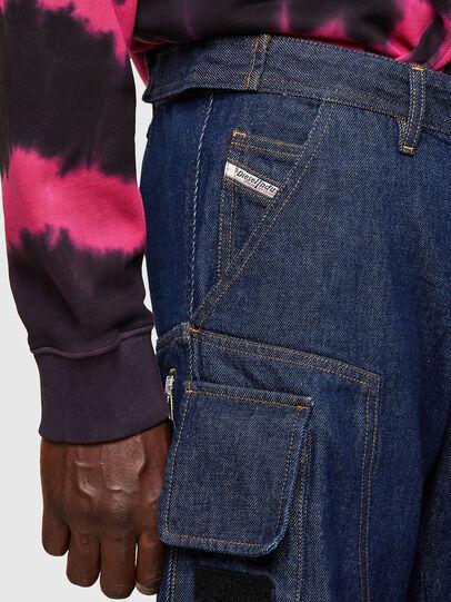Diesel - D-KARGO, Medium blue - Pants - Image 4