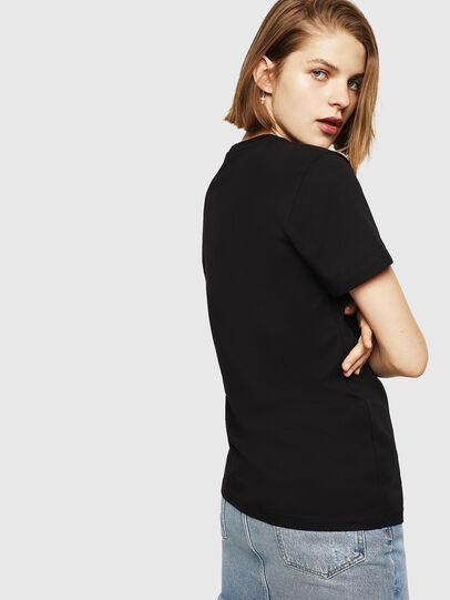 Diesel - T-FOIL, Black - T-Shirts - Image 2