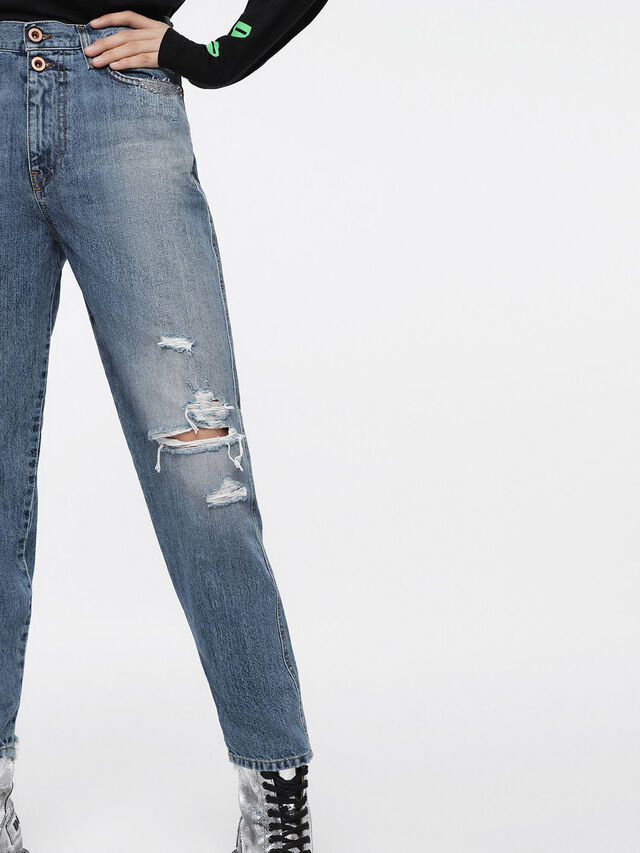 Diesel - Alys 084ZE, Light Blue - Jeans - Image 4