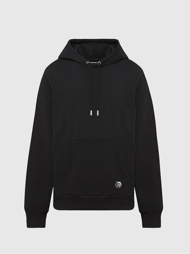 Hoodie with Mohawk patch
