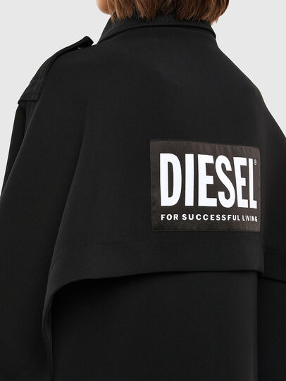 Diesel - W-TILLER, Black - Winter Jackets - Image 5