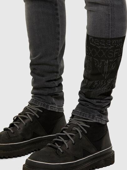 Diesel - D-Amny 009GL, Black/Dark grey - Jeans - Image 5