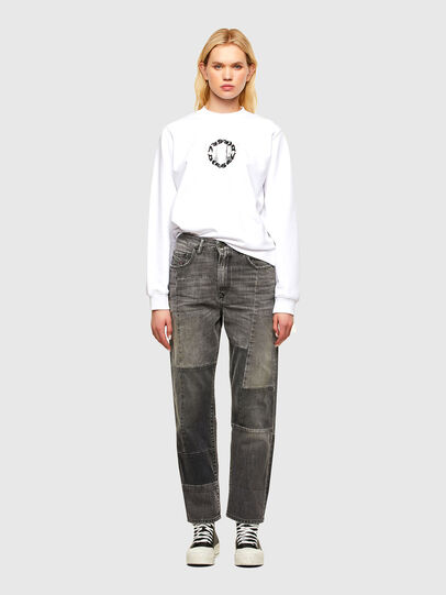 Diesel - F-ANG-R30, White - Sweaters - Image 4