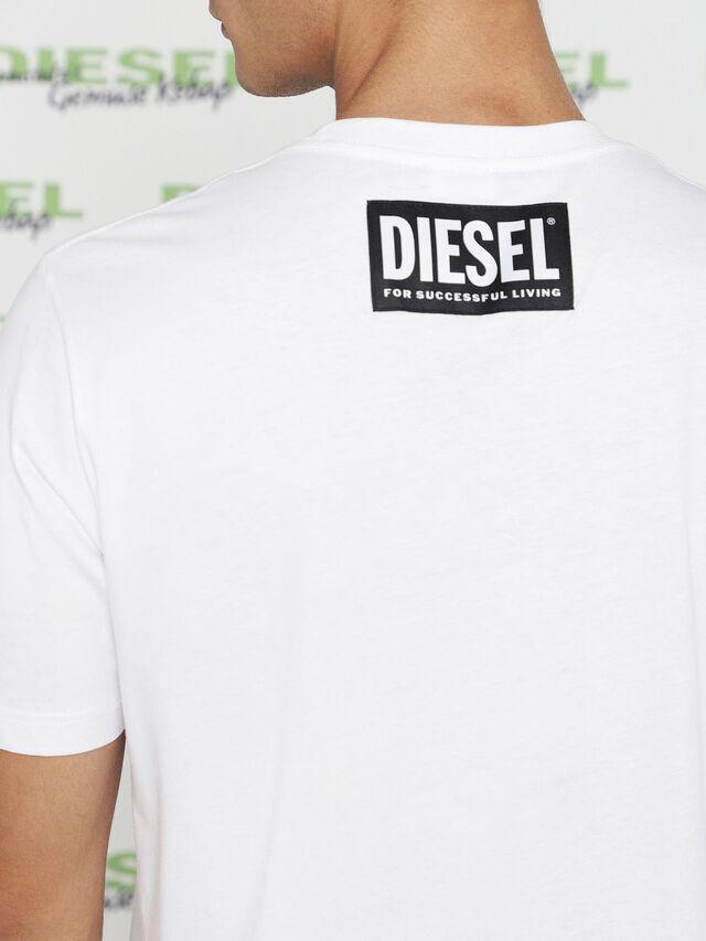 Diesel MU-T-BALD, White - T-Shirts - Image 5