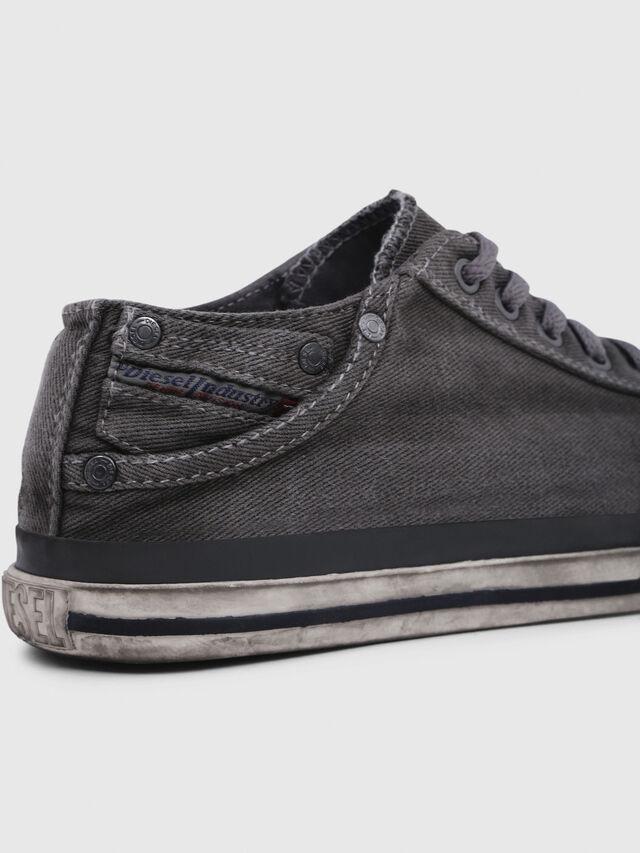 Diesel - EXPOSURE IV LOW  W, Metal Grey - Sneakers - Image 4