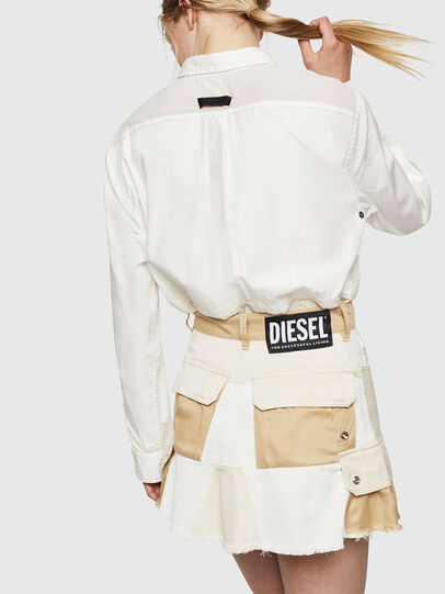 Diesel - O-AMATA-A, Cream - Skirts - Image 2