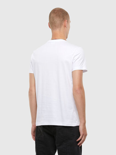 Diesel - T-DIEGOS-N22, White - T-Shirts - Image 2