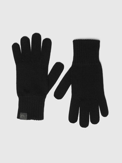 Diesel - K-TAB-B, Black - Gloves - Image 1