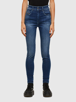 Slandy High 009FE, Dark Blue - Jeans