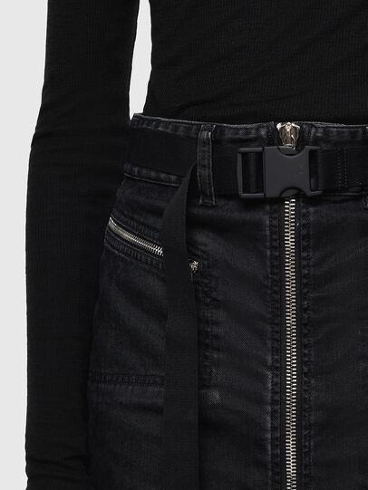 Diesel - OSILKA, Black - Skirts - Image 3