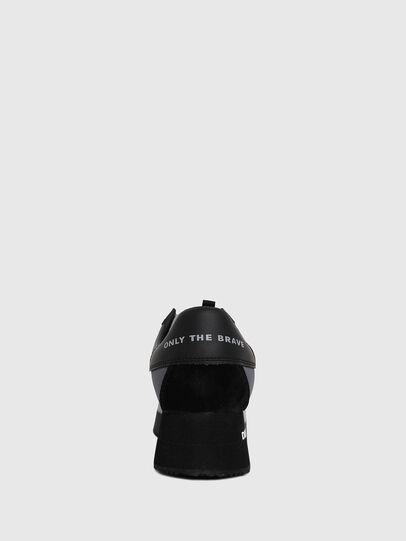 Diesel - S-PYAVE WEDGE, Blue/Black - Sneakers - Image 4